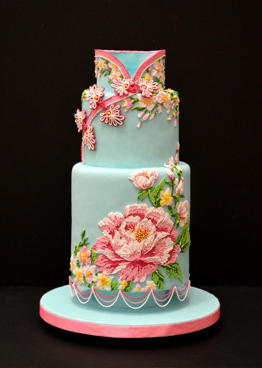 Роспись на тортах мастер класс с пошаговым фото