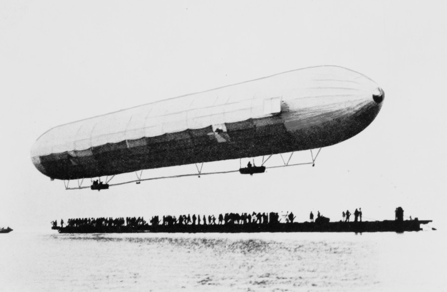 First Zeppelin ascent