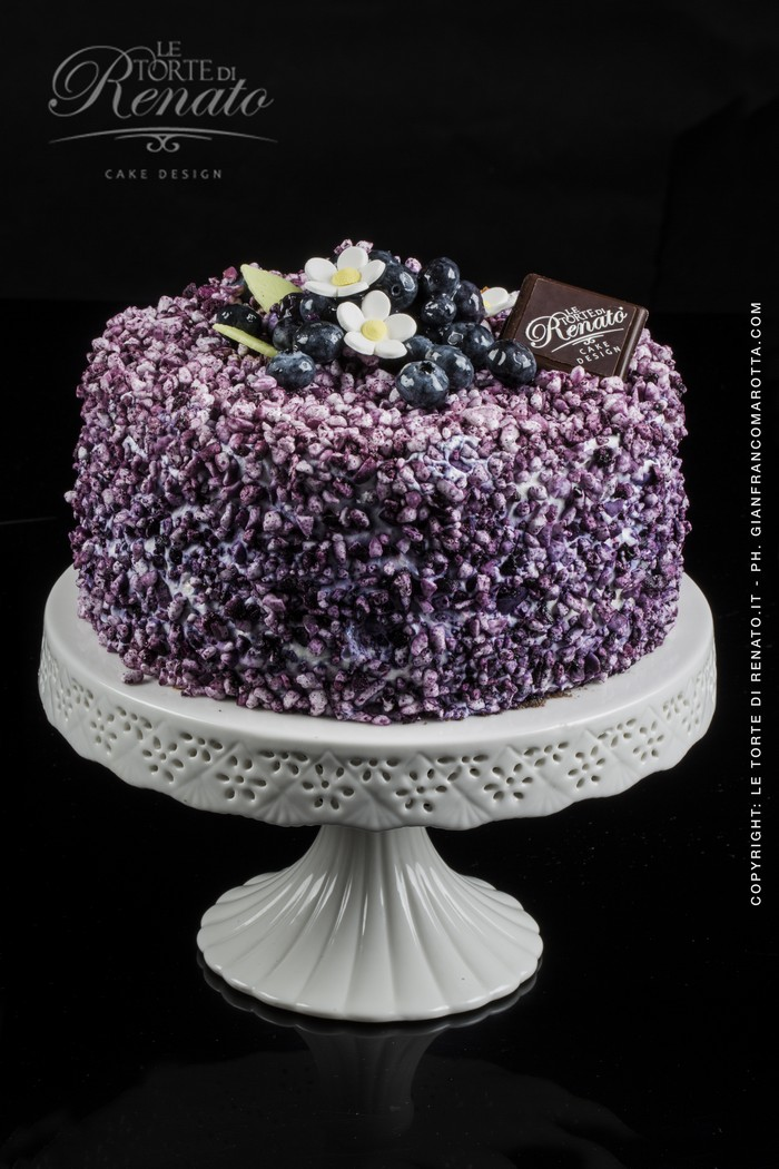 Blueberry cake Cake Design Italia
