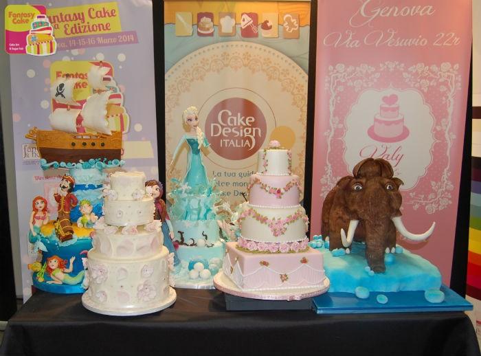 Articoli Per Cake Design Genova : Tanta curiosita ed entusiasmo tra i visitatori del Fantasy ...
