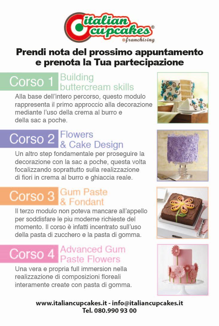 Nuovi corsi con il metodo wilton a bari roma milano e padova - Corso di design roma ...