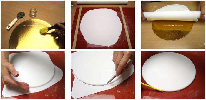 Tutorial torta dummy a due piani con albero di natale for Piani del sito online