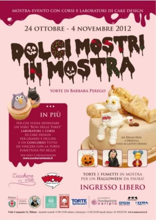 DOLCI MOSTRI IN MOSTRA