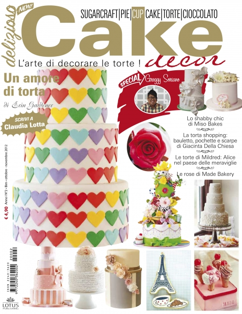Delizioso cake d cor for Art e decoration rivista