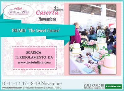 """The Sweet Corner"" Contest per Cake Design a Torte in Fiera"