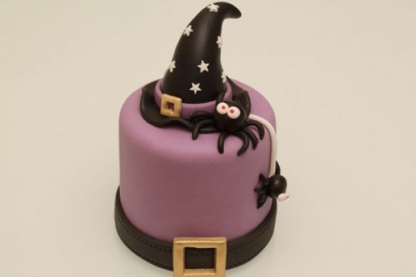 Tutotrial mini cake per Halloween