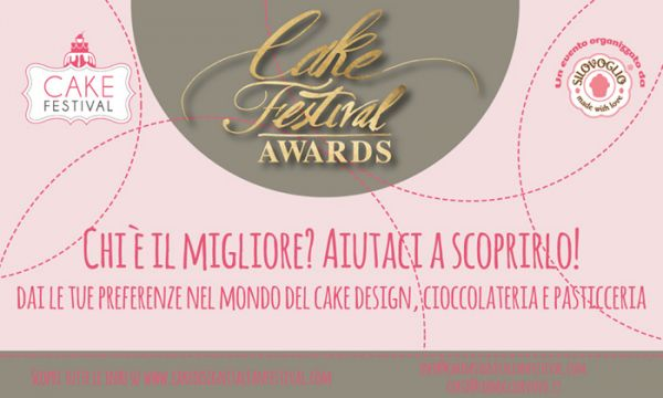 Cake Festival Awards 2015 - Cos'è e come si vota