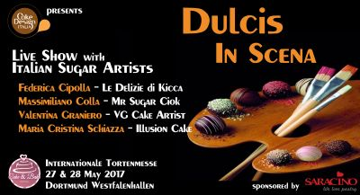 Dulcis in Scena all'Internationale Tortenmesse - Cake And Bake Germany