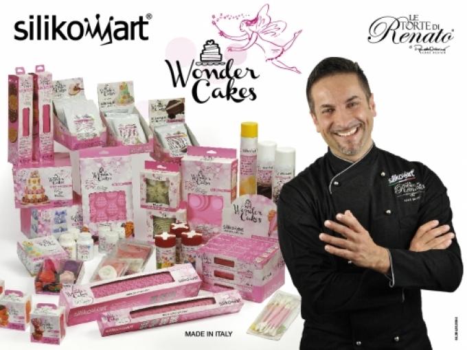 Renato Cake Design Ricetta Pasta Di Zucchero : Renato Ardovino Testimonial internazionale per Silikomart