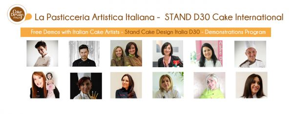 Le demo italiane al Cake International di Birmingham