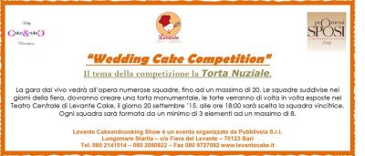 """Wedding Cake Competition"" a Levante Cake And Cooking"