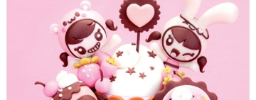 Molly & Charuca Kawaii love and cake