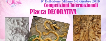 Placca Decorativa - Shaki Cake International