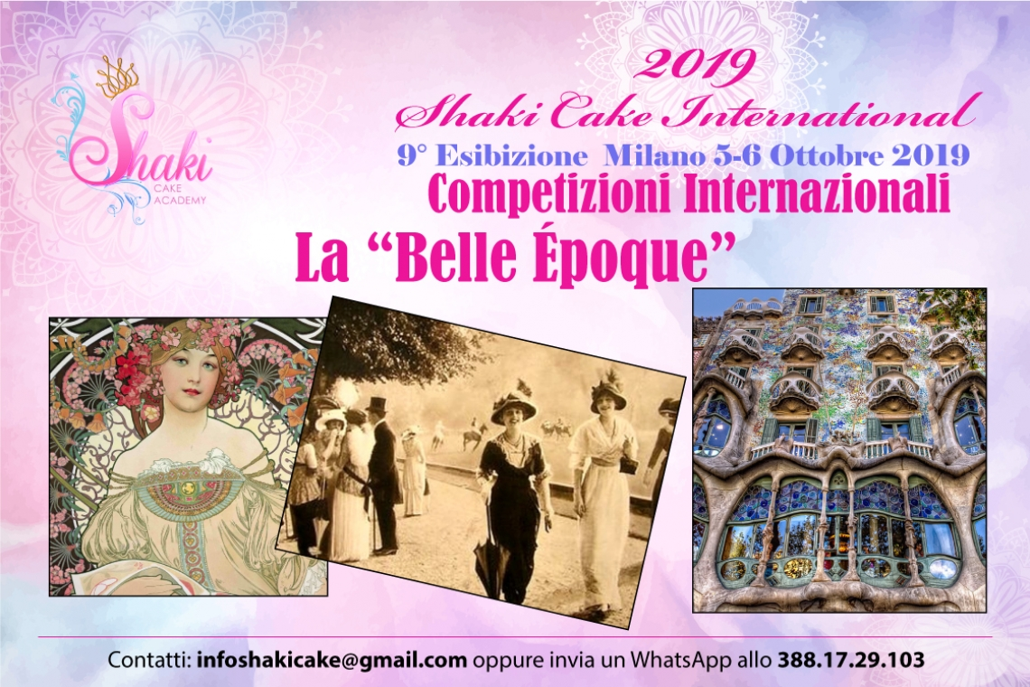 Il Fascino della Belle Epoque - Shaki Cake International