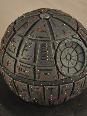 star wars cake morte nera