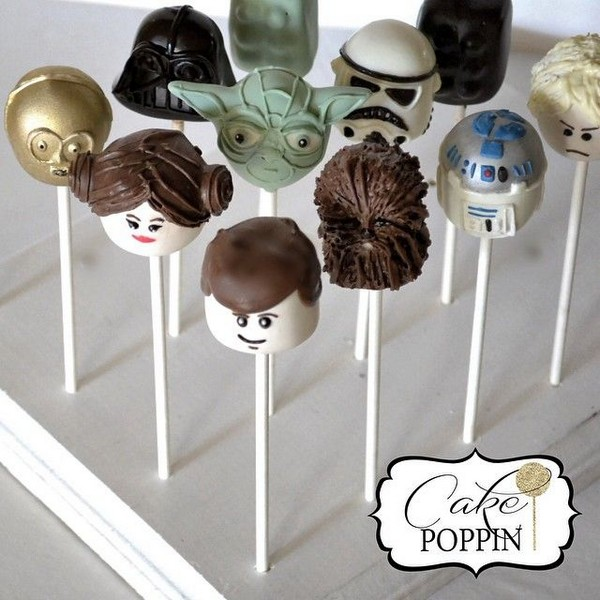 star wars cakepop