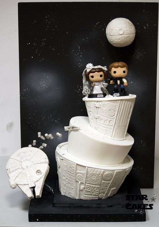 star wars wedding cake 02