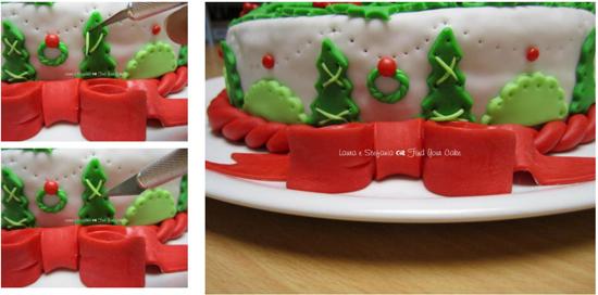 Torta A Forma Di Stella Di Natale.Tutorial Torta Con La Stella Di Natale Cake Design Italia