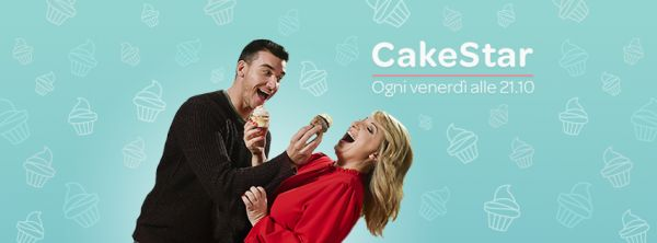 Cake Star: Pasticcerie in sfida con Katia Follesa e Damiano Carrara su Real Time