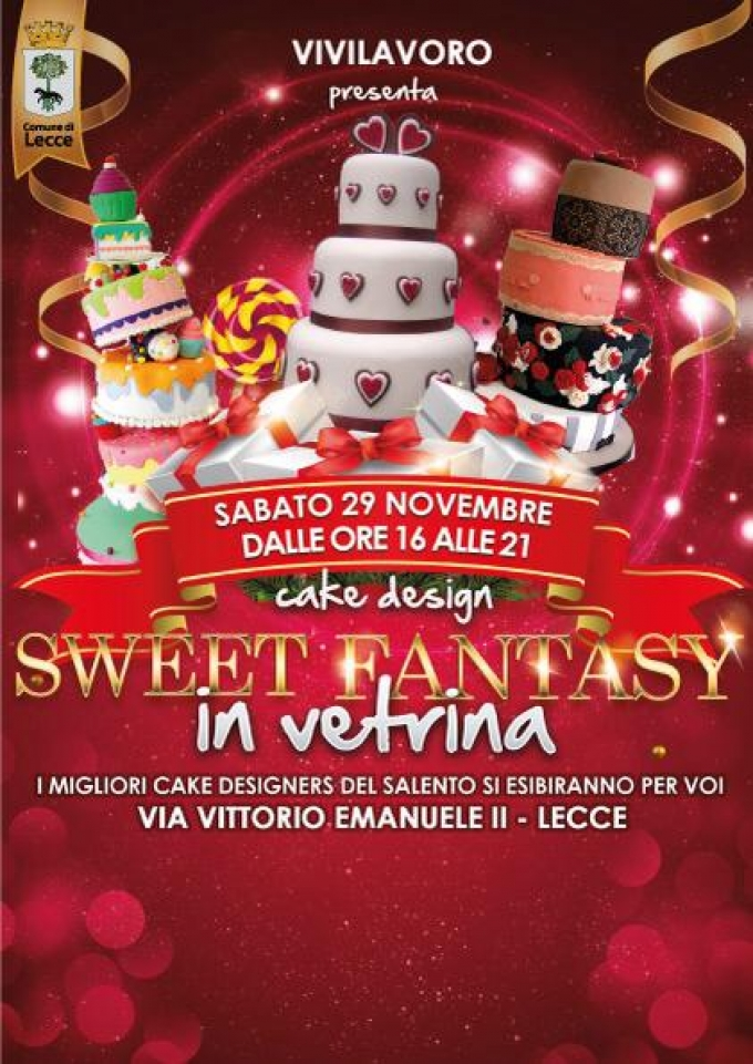 Sweet Fantasy In Vetrina