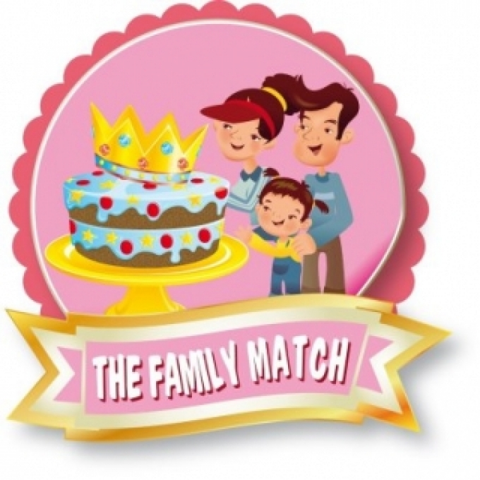 The Family Match al Fantasy Cake!